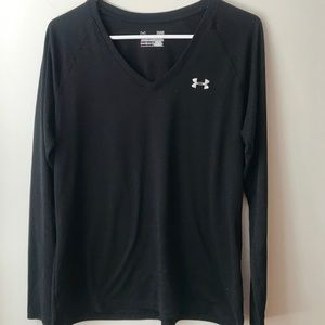 Under Armour Black Long Sleeve Size L